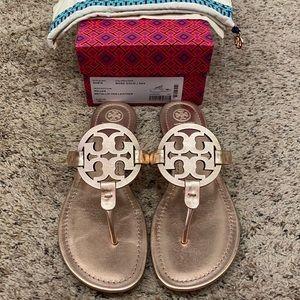 Rose Gold Miller Sandals